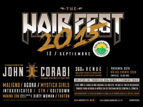 HAIR FEST 2015 - 12 de septiembre