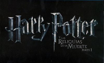 HARRY POTTER LAS RELIQUIAS DE LA MUERTE PARTE 1