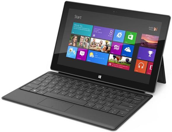 Nueva tablet de Microsoft de nombre 'Surface'