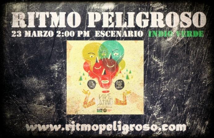 RITMO PELIGROSO abrirá el viernes el Escenario Verde
