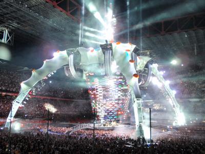 Conoce La Garra, alta tecnología en el concierto de U2