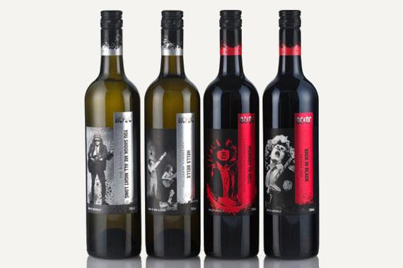 AC/DC con su propia línea de vinos
