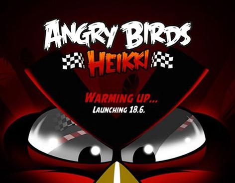 Se espera el nuevo lanzamiento de ANGRY BIRDS HEIKKI
