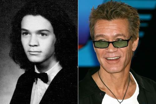 Van Halen - antes & después