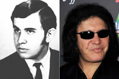 Gene Simmons - antes & después