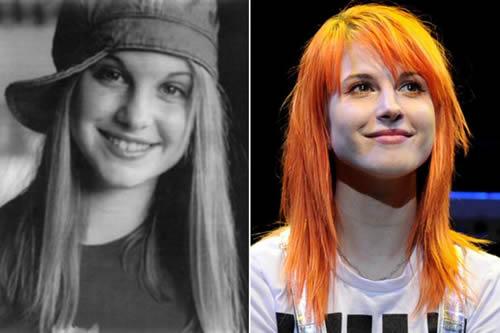 Paramore - antes & después