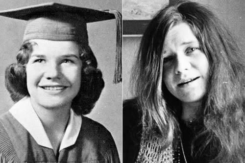 Janis Joplin - antes & después