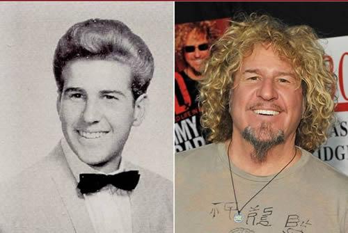 Sammy Haggar - antes & después