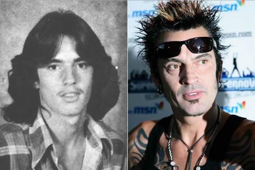 Tommy Lee - antes & después