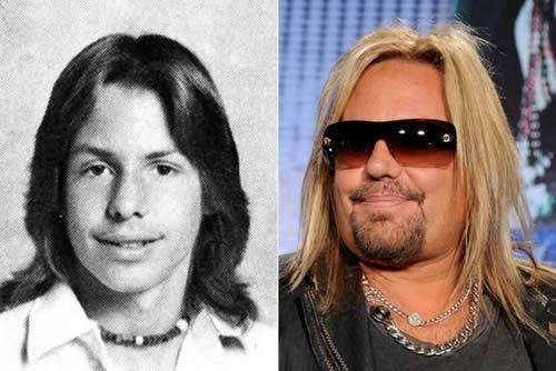 Vince Neil - antes & después