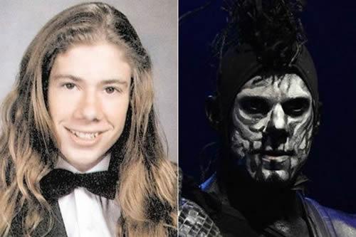 Wes Borland - antes & después