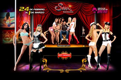 EXPO SEXO Y ENTRETENIMIENTO 2010 - 24 FEBRERO  AL 1 MARZO