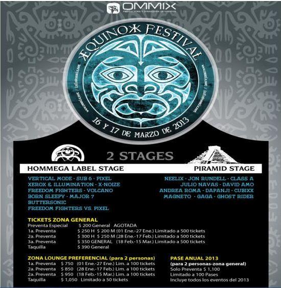 EQUINOX 2013, 16-17 Marzo