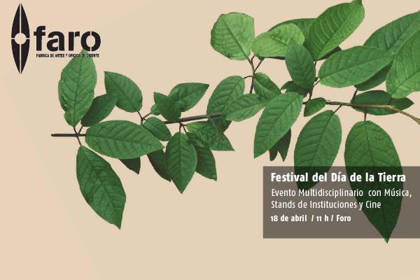 FESTIVAL D�A DE LA TIERRA 18 Abril