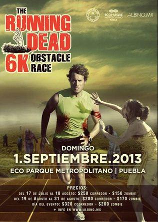 The Running Dead Puebla - 1 de Septiembre