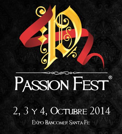 PASSION FEST - llega al DF en Octubre