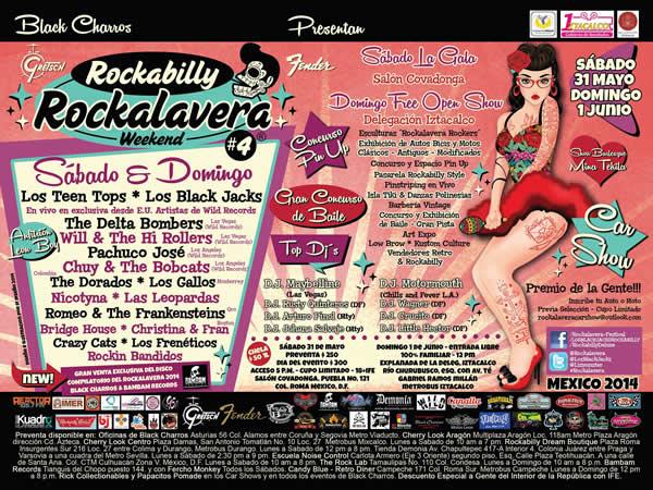 ROCKALAVERA 2014 - Sábado 31 y Domingo 1 de Junio