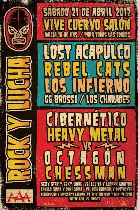 ROCK Y LUCHA 2012