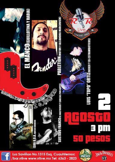CLINICA DE BAJO EN EL R&R LIVE - 2 de Agosto