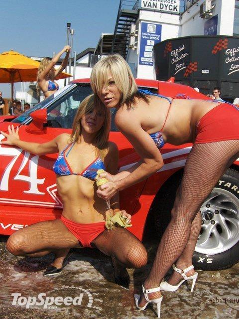 Asi se deben lavar los coches!