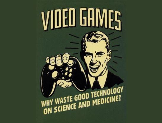 Respetando la industria de los videojuegos.