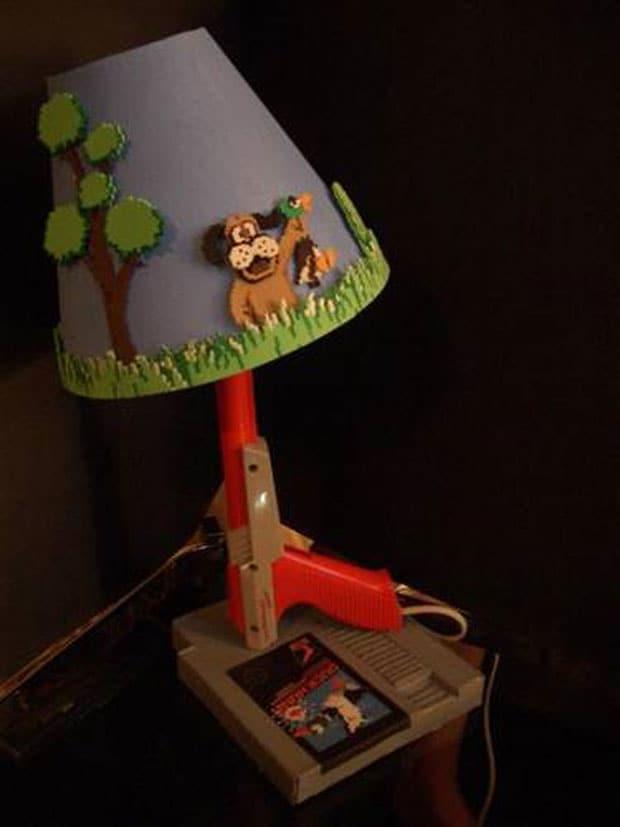 Lámpara de Duck Hunt