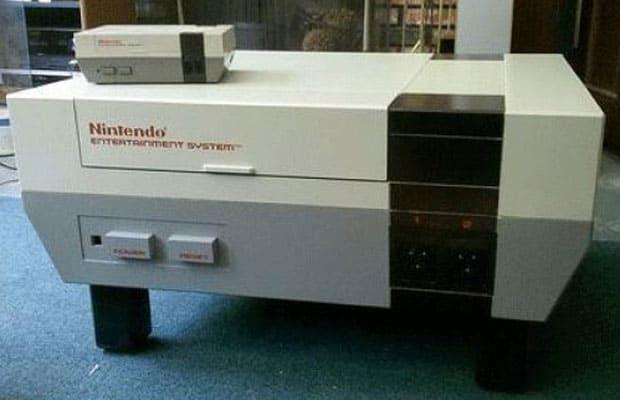Mesa de consola de Nintendo