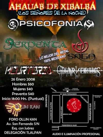 FORO OLLIN KAN Metal Mexicano en Tlalpan