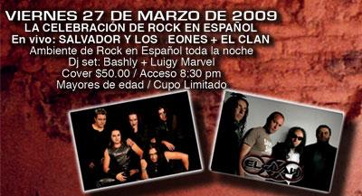 SALVADOR Y LOS LEONESDada X - Aniversario X 27 de Marzo
