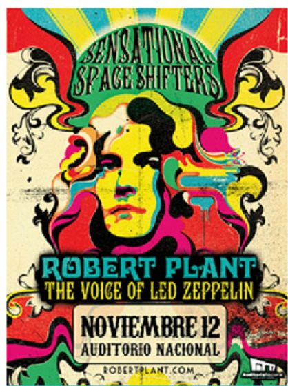 Robert Plant en México12 Nov. Auditorio Nacional