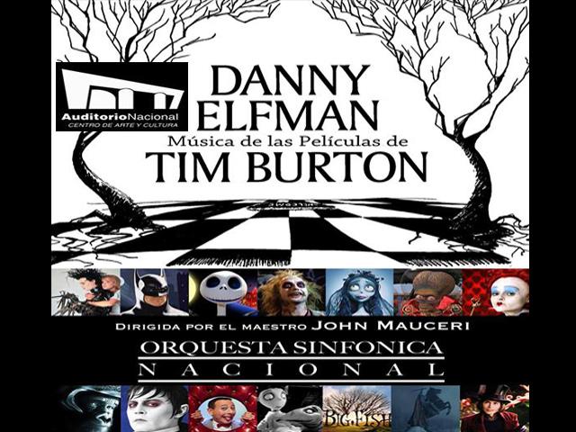 La extraña velada de Danny Elfman; por primera vez en México.Música de las películas de Tim Burton en vivo