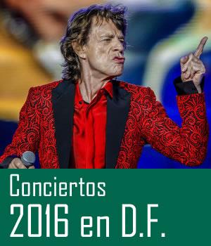CONCIERTOS ESPERADOS EN EL  2016Para la Ciudad de México, Conciertos esperados en el 2016, Conciertos Ciudad de México 2016, Roling Stones y Iron Maiden entre los conciertos más esperados en la Ciudad de México.