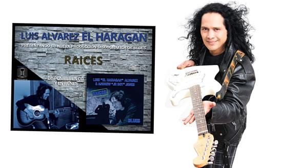 """EL HARAGANresenta su decimoquinta producción discográfica """"Raíces"""", EL Haragan regresa con Raices,  Raíces es el nombre del nuevo disco del Haragán"""
