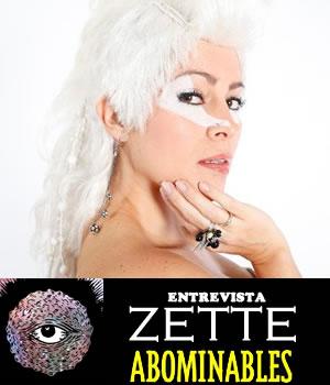 ZETTE DE ABOMINABLESEntrevista exclusiva, Entrevista con Zette de Abominables, Zette habla sobre el Vive Latino, Zette habla sobre el nuevo disco de abominables.