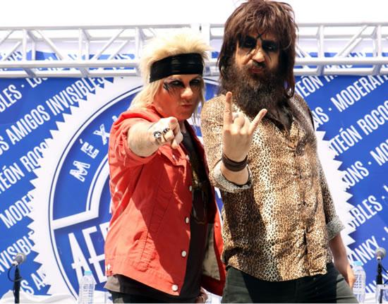 AERO MUSIC SHOW15 al 17 de abril, Moderatto y los claxons en el aero music show, Panteón Rococó en el Aero Music Show, Kinky y Amigos invisibles en el Aero Music Show