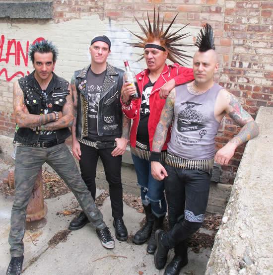 THE CASUALTIESLlega a Carpa Astros , The casualties en México, Regresa The Casualties a Ciudad de México, The Casualties punk neoyorquino en Carpa Astros