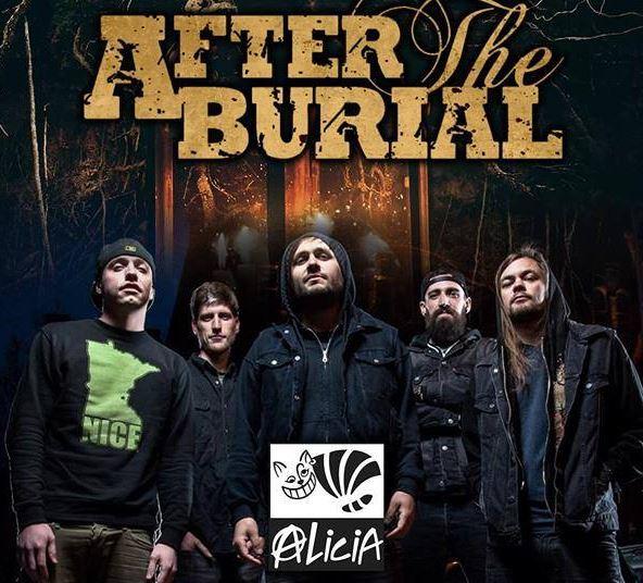 AFTER THE BURIALPor primera vez en México, After The burial en el Foro alicia,  after the burial visita la Ciudad de México