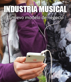 INDUSTRIA MUSICALEl nuevo modelo de negocio, El nuevo modelo de negocio en la industria musical, streaming por spotify o deezer