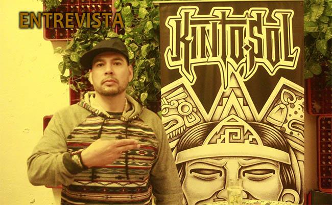 KINTO SOLEntrevista, Entrevista con el rapero Kinto Sol, rap mexicano