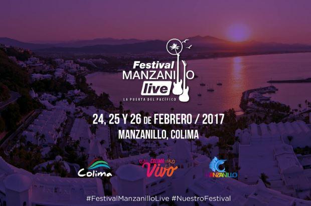 FESTIVAL CORONA MANZANILLO LIVE24 al 26 de febrero - conoce el cartel, llega a Colima el Festival Manzanillo Live,  Caifanes y El Tri en Manzanillo,  grupos de rock en el manzanillo live 2017