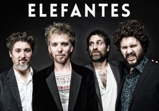 ELEFANTESGira por México, elefantes en foro lando toluca, elefantes en studio 803 puebla, elefantes en el foro indie rocks,  gira 2017 por mexico de elefantes