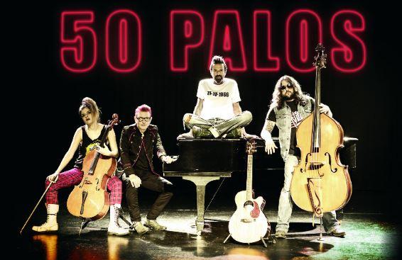 JARABE DE PALONuevo material '50 palos', presentaciones en México, Jarabe de palo en el vive latino,  jarabe de palo en el festival pal´norte,  nuevo disco de jarabe de palo