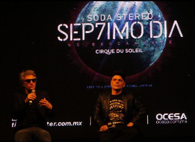 Benito Cerati, Soda Stereo y el Cirque Du Soleil