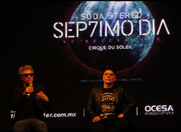 SEP7IMO DIASoda Stereo y el Cirque Du Soleil llegan a México