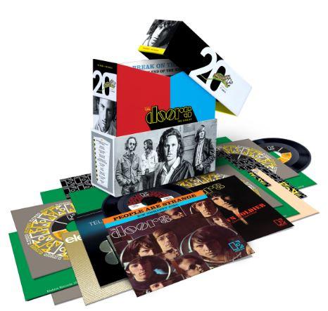 THE DOORSCelebran 50 años con  la colección THE SINGLES , the doors, the singles, the doors celebran 50 años