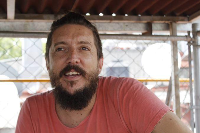 MANÚ CHARRITON DE CARMEN COSTAMartín Palermo otra vez a España; y luego, al Lunario - Entrevista, Entrevista con Manu Charriton de Carmen Costa
