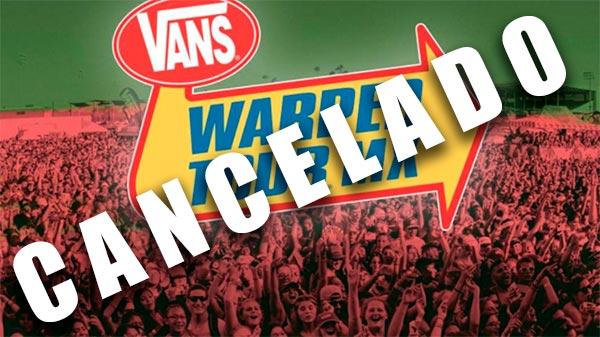 VANS WARPED TOUR 2017Cancelado
