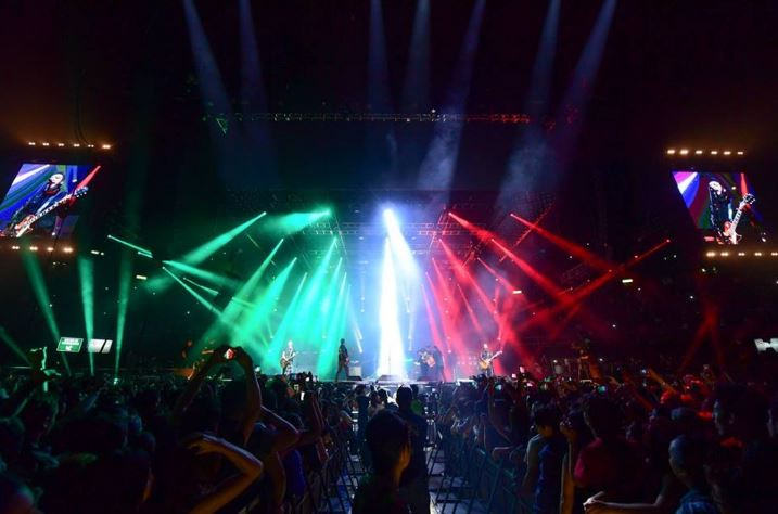 AMPLIFICA en el Palacio de los DeportesCelebrar la vida - Reseña