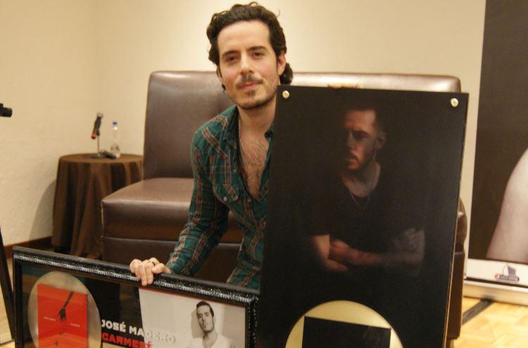 JOSÉ MADEROpresenta 'Ébano y Marfil', José madero presenta nuevo disco Alba, Jose Madero en el Pepsi Center WTC el 14 de abril