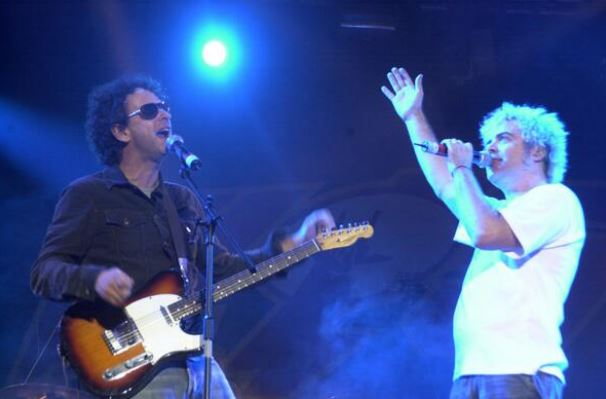 Pericos compartieron escenario con Gustavo Cerati en el Vive Latino 2005